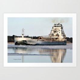 Great Republic Freighter Art Print