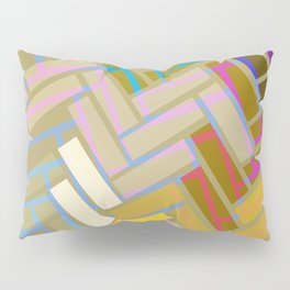 Fill In The Blank Colors Pillow Sham