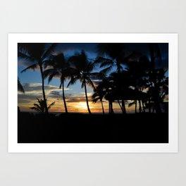 Hawaii Sunset Photo Art Print
