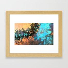 Boulder opal Framed Art Print