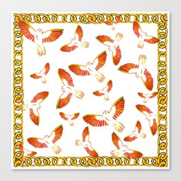 bird bed Canvas Print