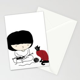 Crazy about wool Stationery Cards