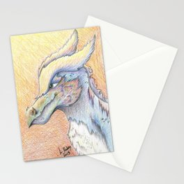 Dragon/Griffon portrait Stationery Cards