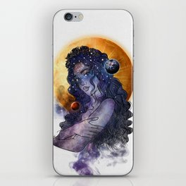 The queen of universe. iPhone Skin