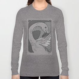 Nobel Flamingo Long Sleeve T-shirt