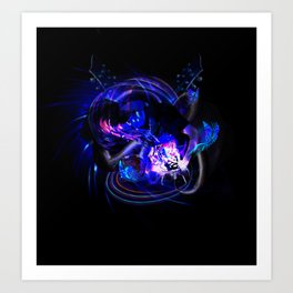 Abstraction of Music Art Print
