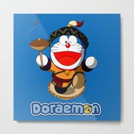 Doraemon cute12 Metal Print