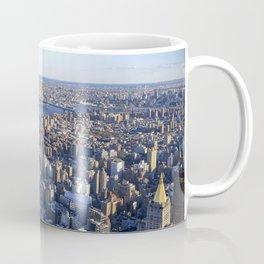 Aerial view of New York Coffee Mug