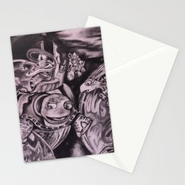 Turtles in Space Stationery Cards