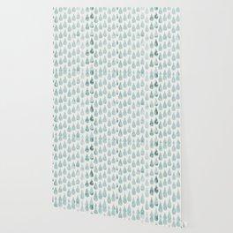 Drop water pattern Wallpaper
