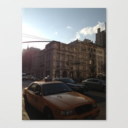 New York Streets Canvas Print