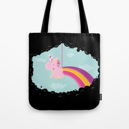 Licorne Piñata Black Version Tote Bag