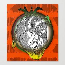 Frida's Heart Canvas Print