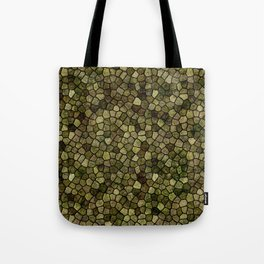 Faux Toad Skin Abstract Pattern Tote Bag