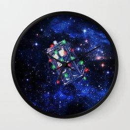 Tardis Neon Wall Clock