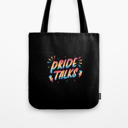Quote+Pride+lgbtq+Talks Best gift Tote Bag