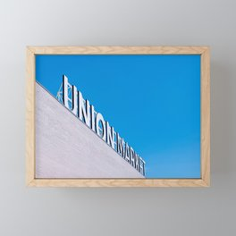 Union Market Framed Mini Art Print