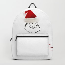 Merry christmas santa claus Backpack