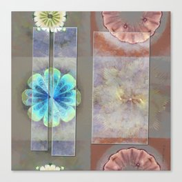 Intercuts Spacing Flowers  ID:16165-035402-83141 Canvas Print
