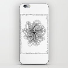 Jellyfish Star I B&W iPhone & iPod Skin