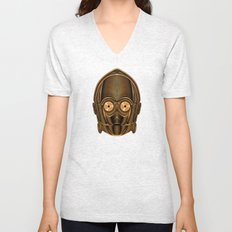 Star . Wars - C-3PO Unisex V-Neck