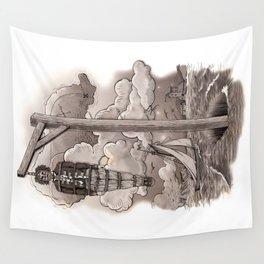 Captain Kidd Wall Tapestry