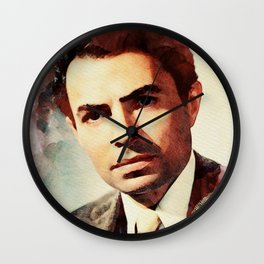 James Mason Wall Clock