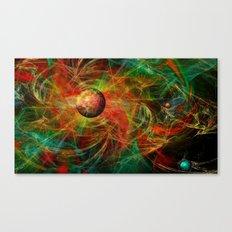 Color centrifugal Canvas Print