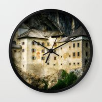 castle Wall Clocks featuring Castle by DistinctyDesign
