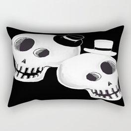 Dapper Skulls Rectangular Pillow