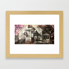 Vireo Street Phantoms: Home Framed Art Print