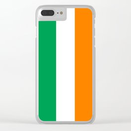 Flag of the Republic of Ireland Clear iPhone Case