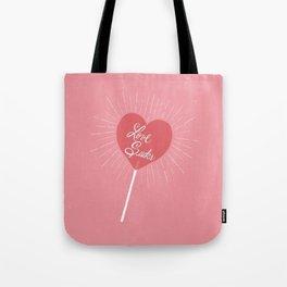 Love Sucks Tote Bag