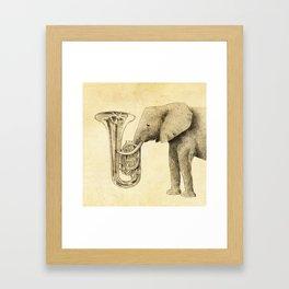 Tuba Framed Art Print