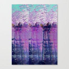 Stuck On Static Canvas Print