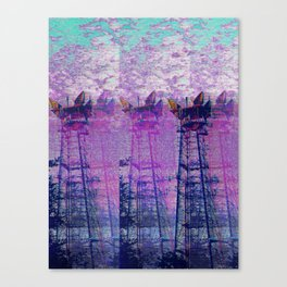 Stuck On Static Canvas Print
