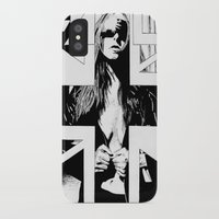 fault iPhone & iPod Cases featuring FAULT by Kelsey Crenshaw