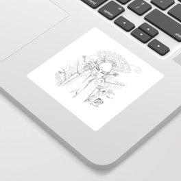 Divine Maya Sticker