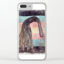 Trans Flogger Clear iPhone Case