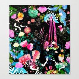 cosmic garden Canvas Print