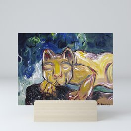 Nittany Lion Mini Art Print