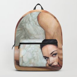 Sexy Nude Beautiful Brunette College Girl With Naked Boobs Kinky Home Decor Erotic Wall Art Backpack
