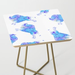 on the horizon blue buffalos Side Table