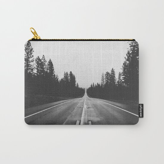 Grey road Carry-All Pouch