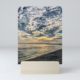Sandbanks Sunset Mini Art Print
