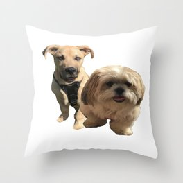 dgs Throw Pillow