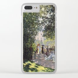 The Parc Monceau Clear iPhone Case
