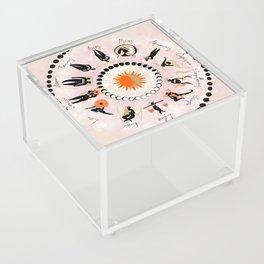 Zodiac Wheel Acrylic Box