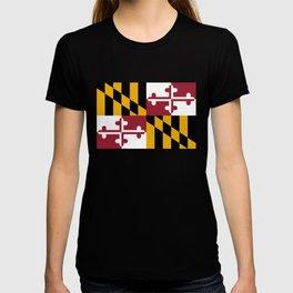 Maryland State Flag, Hi Def image T-shirt
