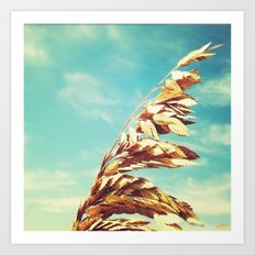 Burnished. Art Print